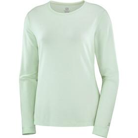 Salomon Sight Classic LS T-shirt Damer, grøn